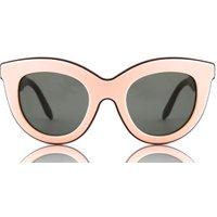 Victoria Beckham Zonnebrillen Layered Cat Pink On Nut VBS103 C05 |
